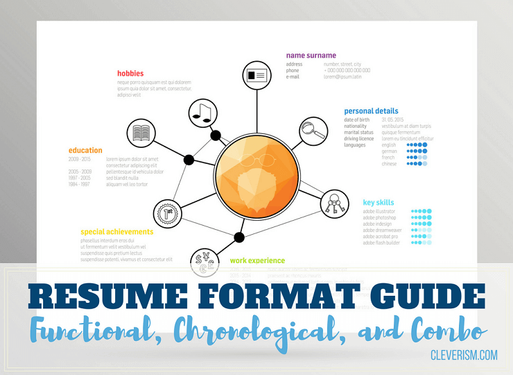 Resume Format Guide: Functional, Chronological, and Combo ...