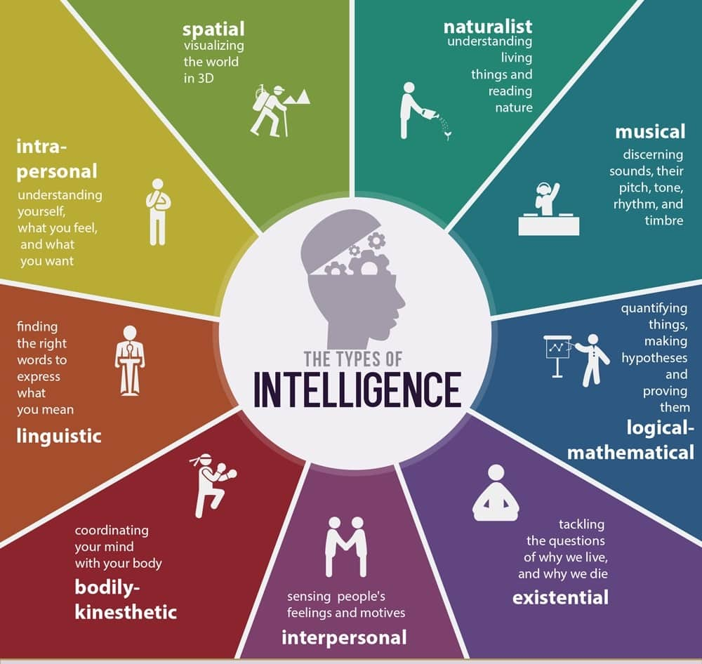 image relating to Howard Gardner Multiple Intelligences Test Printable referred to as Styles of Intelligence and How toward Identify The Just one Oneself Are Simplest