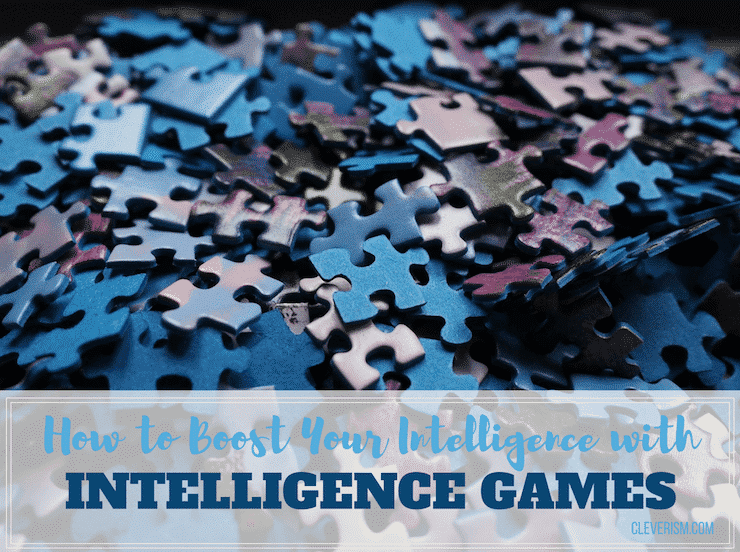 How to Boost Your Intelligence with Intelligence Games