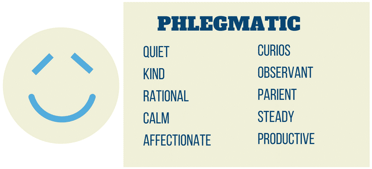 What does phlegmatic mean