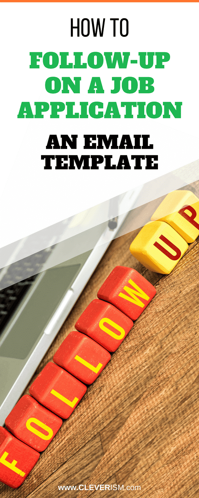 how to follow up on a job application an email template