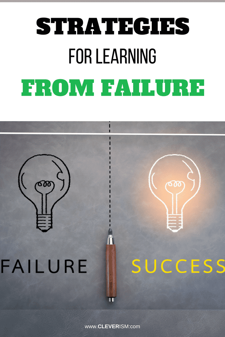 Strategies for Learning from Failure - #LearningFromFailure #StrategiesForLearningFromFailure #Cleverism