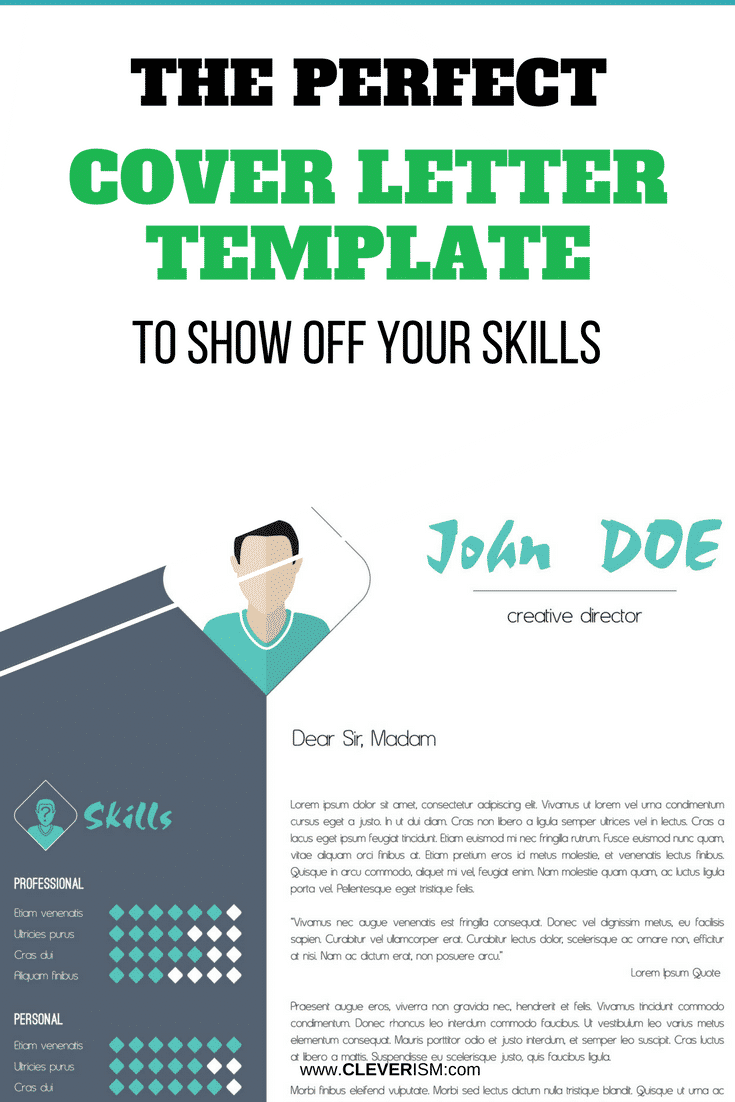 The Perfect Cover Letter Template to Show Off Your Skills - #CoverLetter #CoverLetterTemplate #SkillsOnCoverLetter #CL #Cleverism #JobApplication
