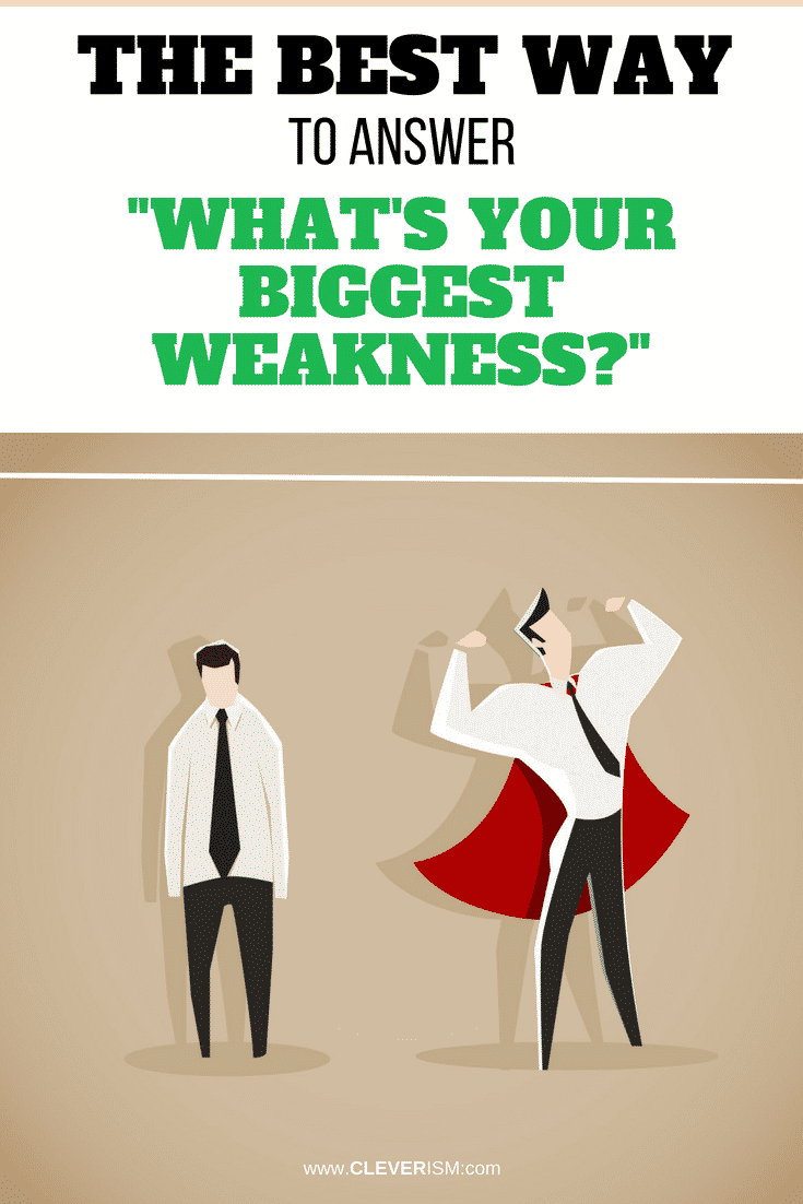 The Best Way to Answer What's Your Biggest Weakness - #BiggestWeakness #BestAnswerToWhatsYourBiggestWeakness #Interview #JobInterview