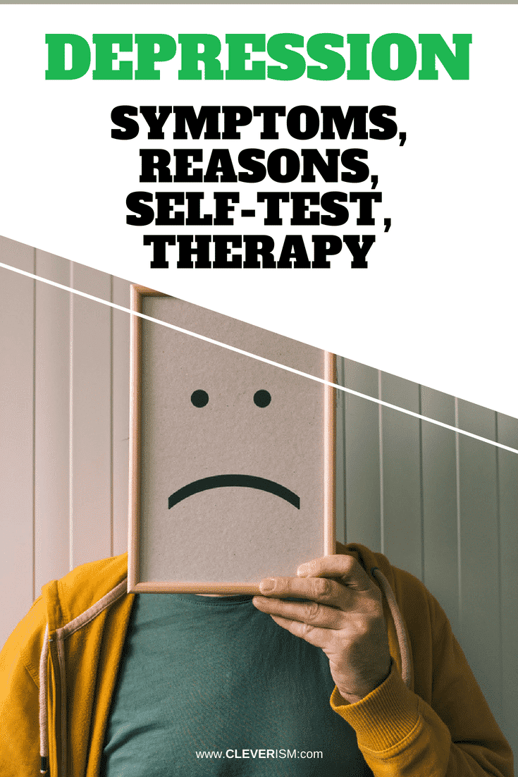 Depression Symptoms, Reasons, Self-Test, Therapy - #Depression #DepressionSymptoms #DepressionReasons #DepressionTherapy