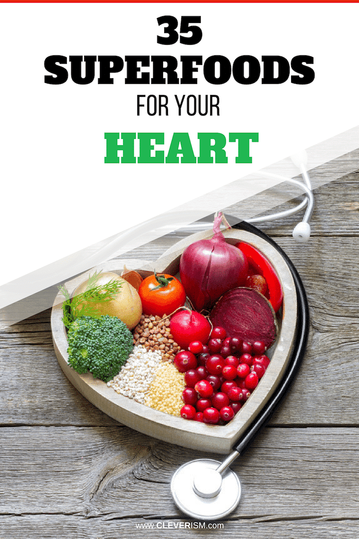 35 Superfoods For Your Heart - #Superfoods #SuperfoodsForHeart #Healthy