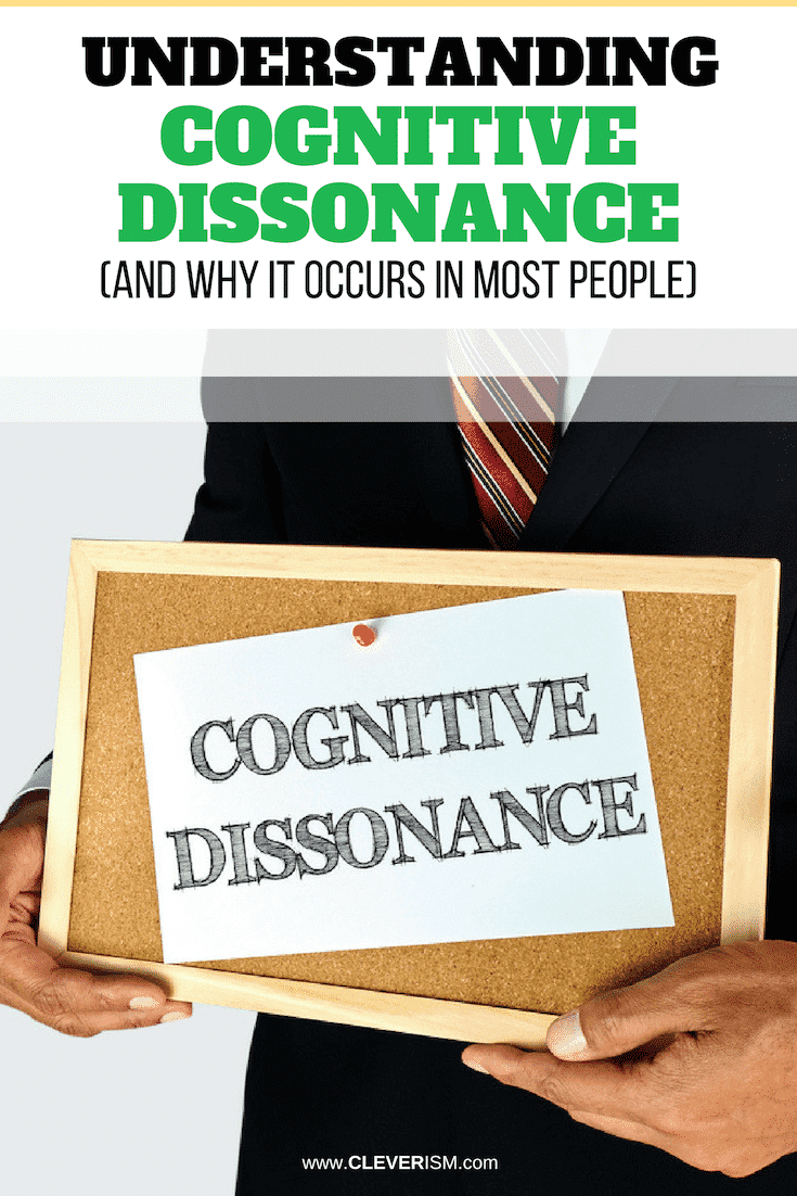 Understanding Cognitive Dissonance (and Why it Occurs in Most People) - #CognitiveDissonance #Cleverism