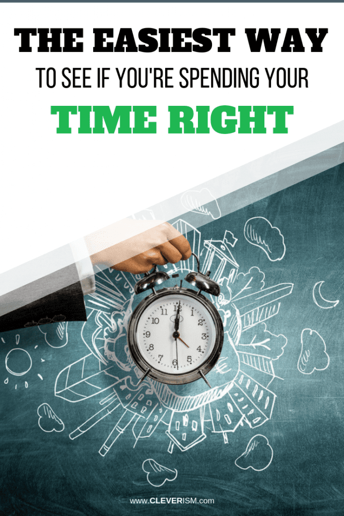 The Easiest Way to See if You're Spending Your Time Right