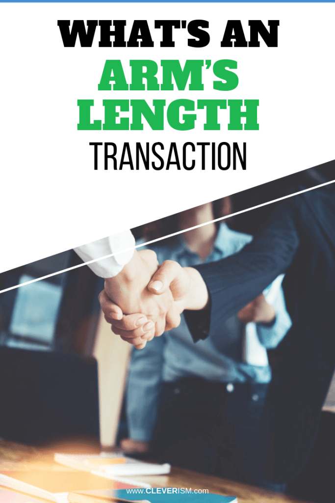What's an Arm's Length Transaction