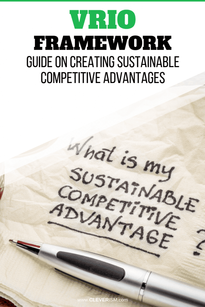 VRIO Framework Guide on Creating Sustainable Competitive Advantages