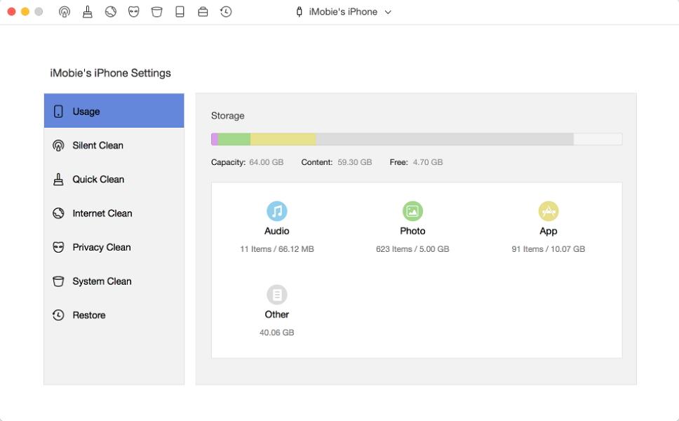 Télécharger PhoneClean 5.4.0 gratuitement pour Windows/macOS