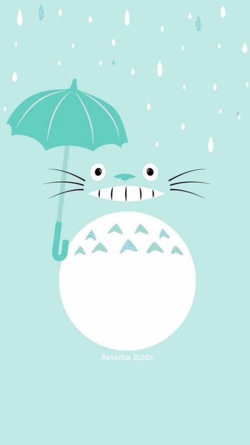 Disney Cute Kawaii Wallpaper 萌的你不要不要的17p《龍貓手機桌布》,快tag喜歡「宮崎駿」的朋友! 點我一下