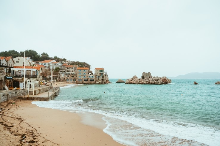 Przno Beach, Montenegro
