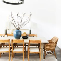 Chairs Dining Table Upholstered Chair With Acrylic Legs How To Incorporate Mismatched In Your Home Mydomaine