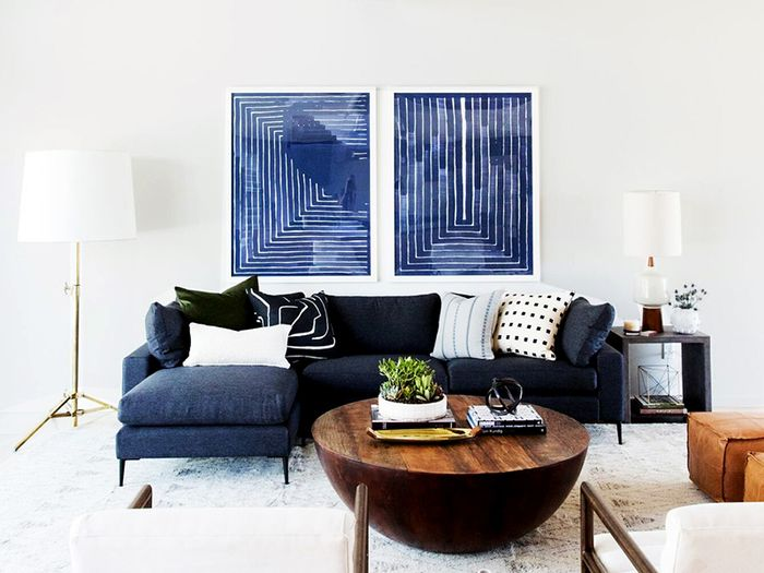 small living room with sectional sofa design on a budget 5 sofas to fit the smallest of spaces mydomaine