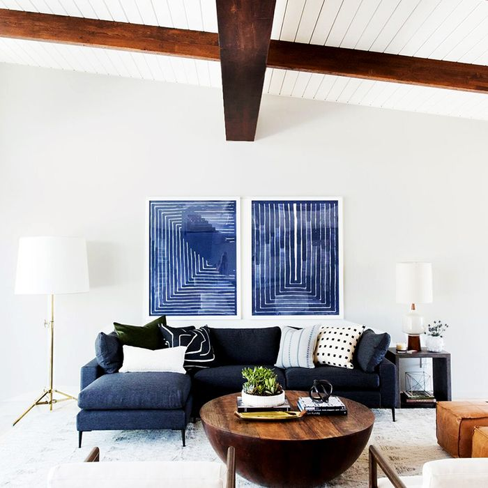 small sectional living room furniture loveseats 5 sofas to fit the smallest of spaces mydomaine