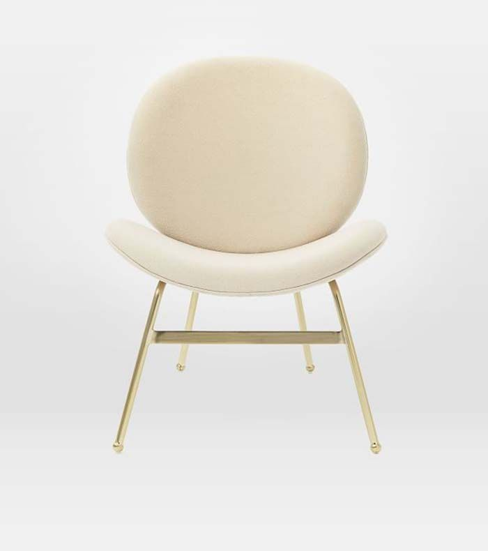 chair for bedroom lane office leather 11 small chairs to maximize every inch of space mydomaine pinterest