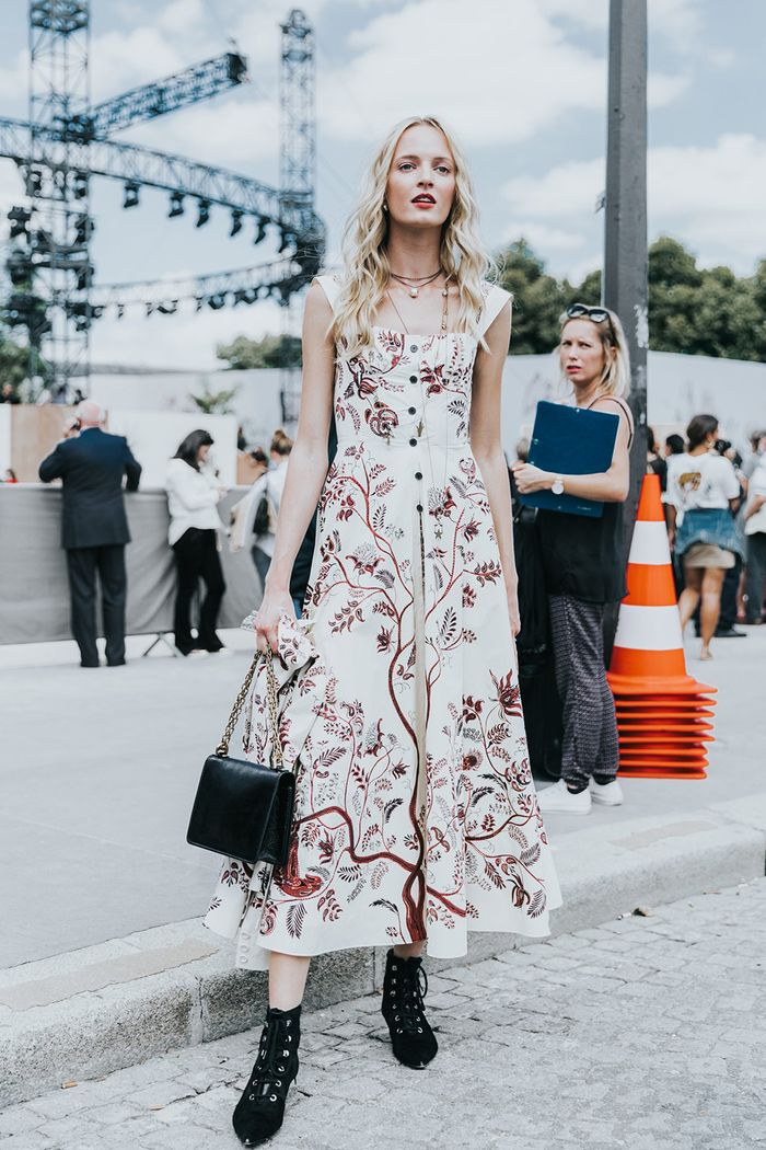 The Best Dresses to Wear With Boots  Who What Wear