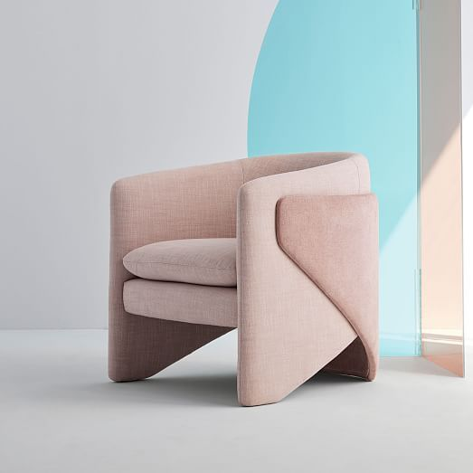 swivel chair west elm small desk and is offering up to 40 off its statement chairs mydomaine pinterest