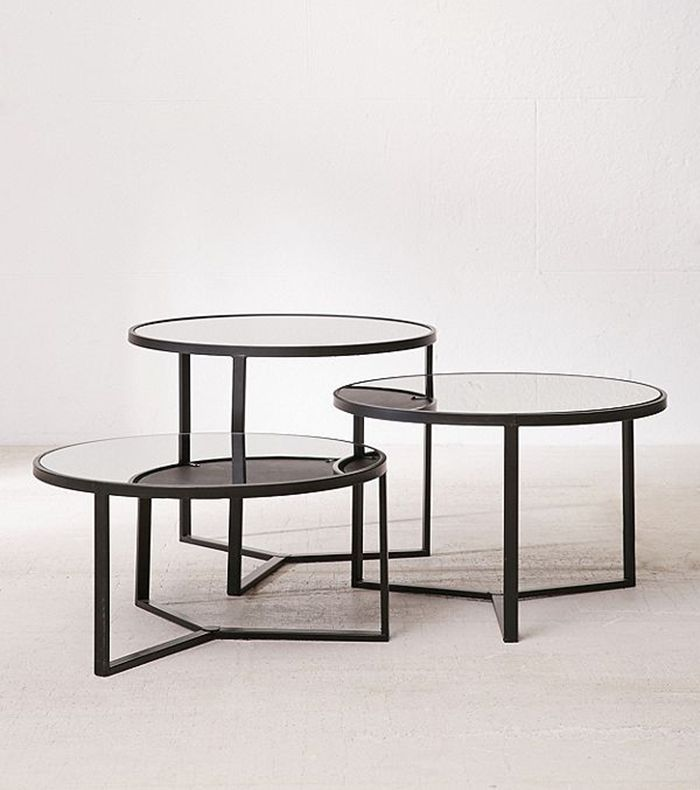 21 Small, Round Coffee Tables to Maximize Your Tiny Space
