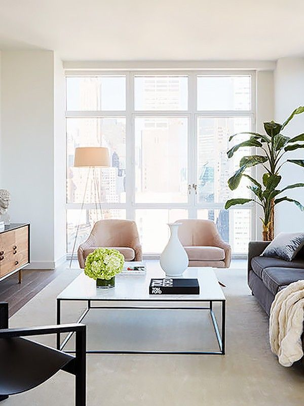 no coffee table living room oversized sets how to arrange your layout matter the size mydomaine