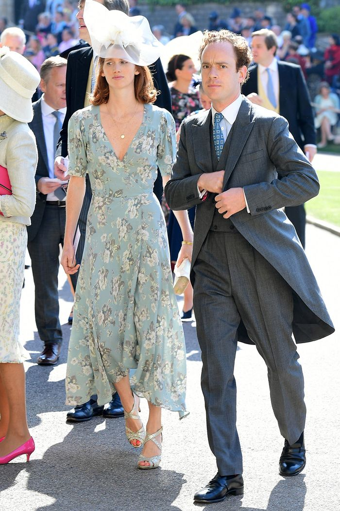 Meghan and Harrys Royal Wedding Guest Outfits  Who What Wear