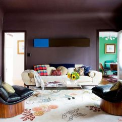 Brown Paint Colors For Living Room Pictures Of Wallpaper 6 Surprisingly Cool That Set A Warm Tone Mydomaine The Best Neutral Exude Warmth And Character
