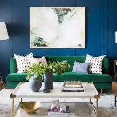 Small Living Room Ideas Blue The Salon 10 Transformative Paint Colors Mydomaine
