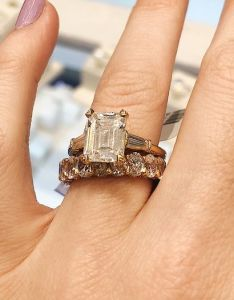 Here   what  diamond engagement ring costs at every carat size also rings who wear rh whowhatwear
