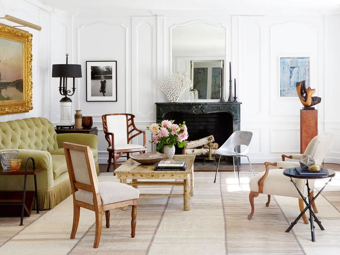 mixing furniture styles living room pendant light 5 mistakes people always make when wood tones mydomaine