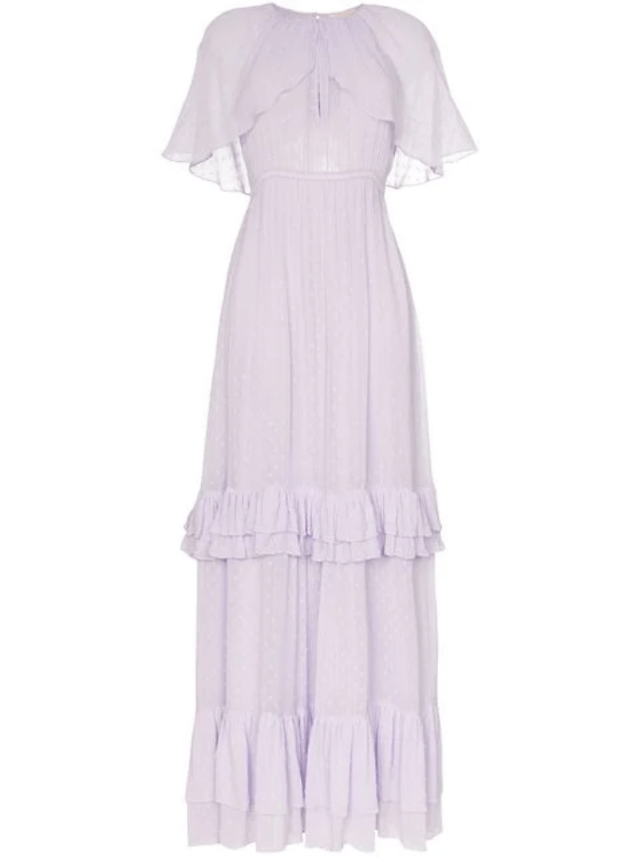 21 Lavender Wedding Dresses That Are Seriously Dreamy