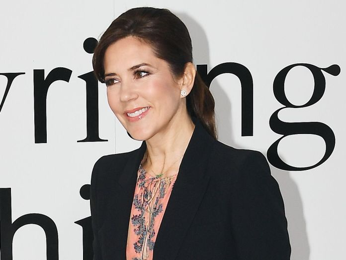 Crown Princess Mary Just Wore the Chicest H&M Dress in Existence
