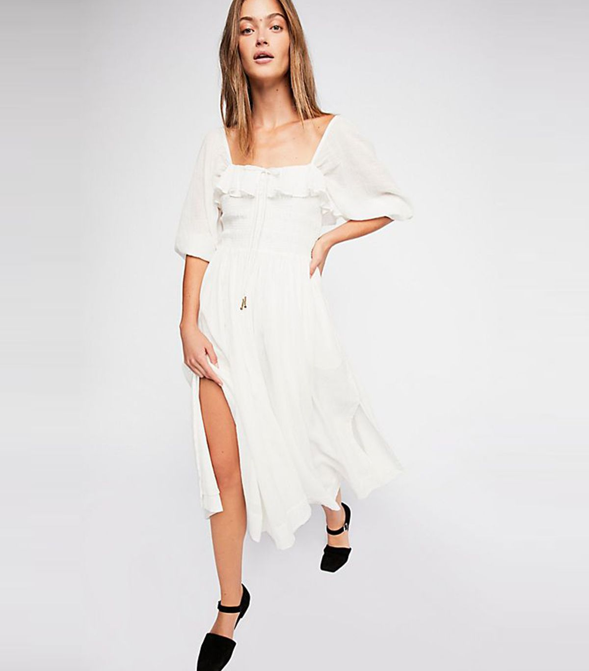 13 White Summer Dresses That I Promise Aren't See-Through