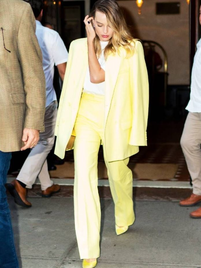 Margot Robbie Just Made Us Want to Shop This Season's Riskiest Color Trend