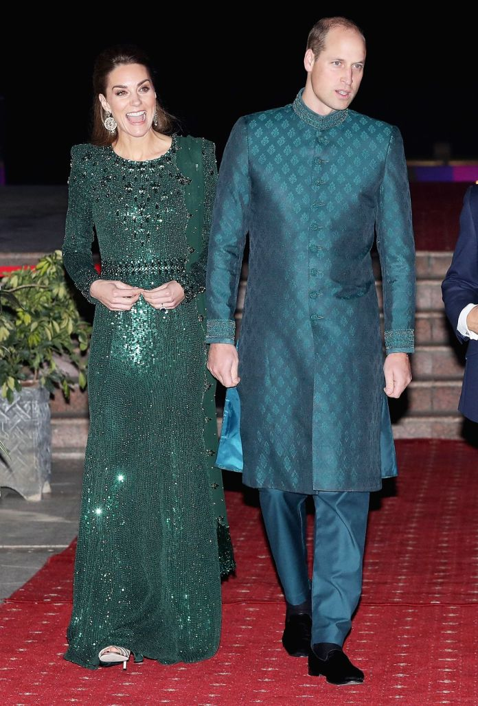 Each Single Factor Kate Middleton Has Worn in Pakistan, Together with $10 Earrings