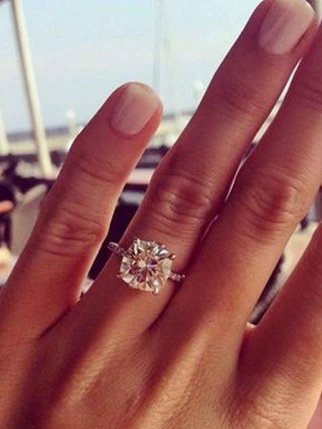 Engagement Ring Photos That Blew Up On Pinterest WhoWhatWear
