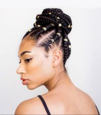 3 Natural Hair Braid Styles