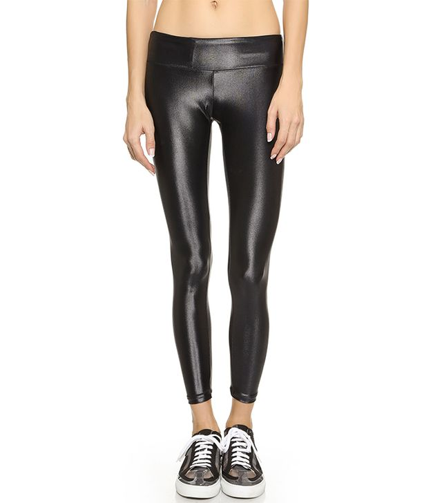 Shiny Metallic Active Legging