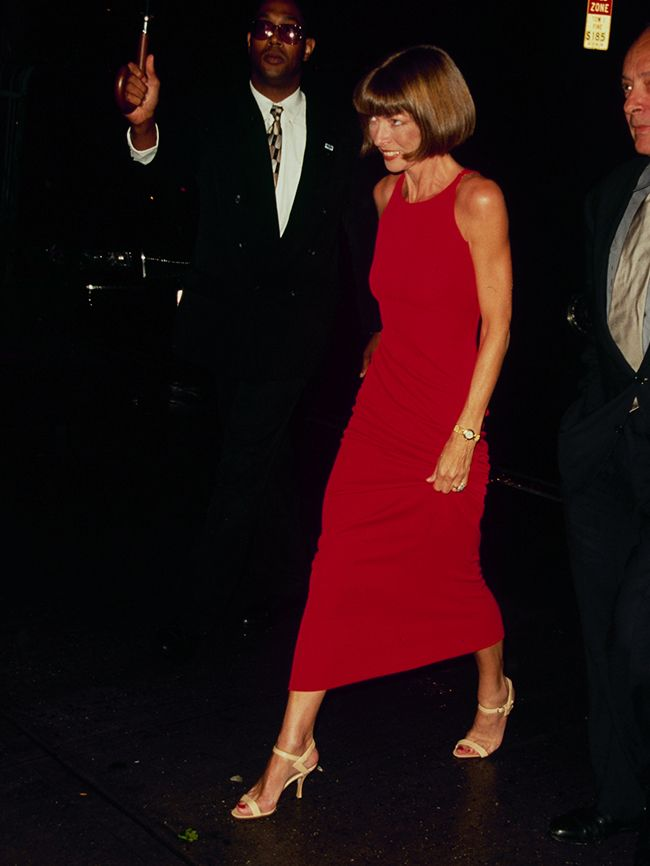 Anna Wintours Earliest Style Moments Are Just Golden  Who What Wear UK