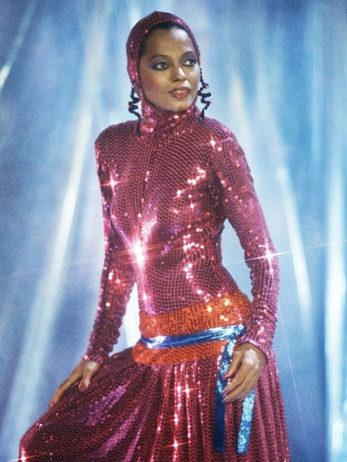 Eighties Fashion Trends: Sequins