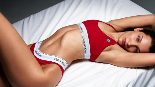 Bella Hadid stars in the latest Calvin Klein campaign
