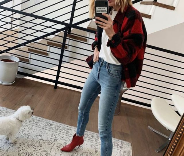 Stylish Skinny Jean Outfits To Wear In Fall  Who What Wear