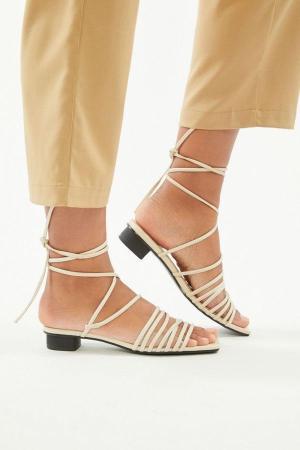 Vagabond Anni Leather Lace-Up Sandal