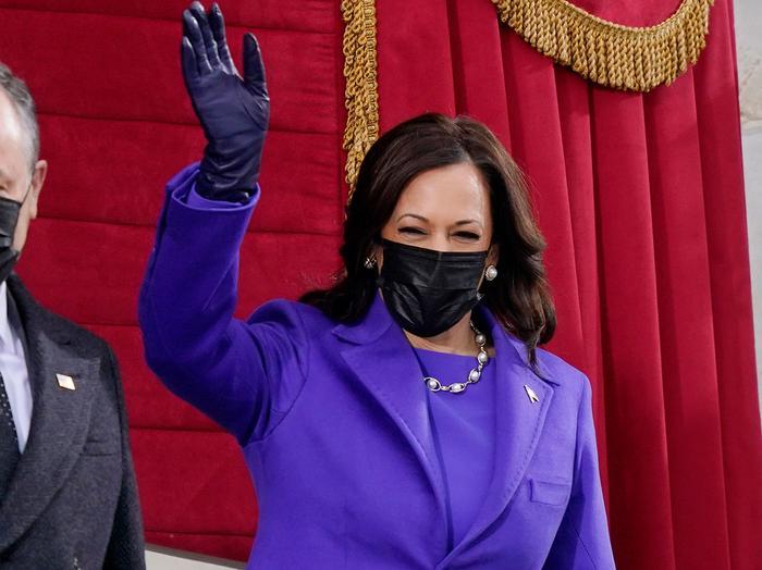 Kamala Harris's Purple Inauguration Outfit Is Striking | Who What Wear