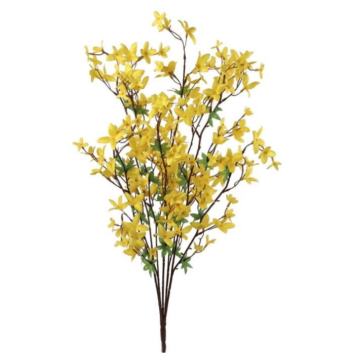 Larksilk 28-Inch Artificial Forsythia Bushes