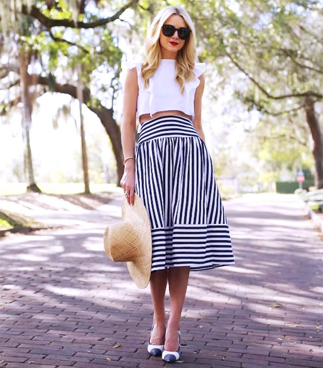 If you're a Pear (hips are the widest part of your body) you look fantastic in A-line skirts.  Why?  An A-line skirt highlights the smallest part of your waist, and flares out over hips,...