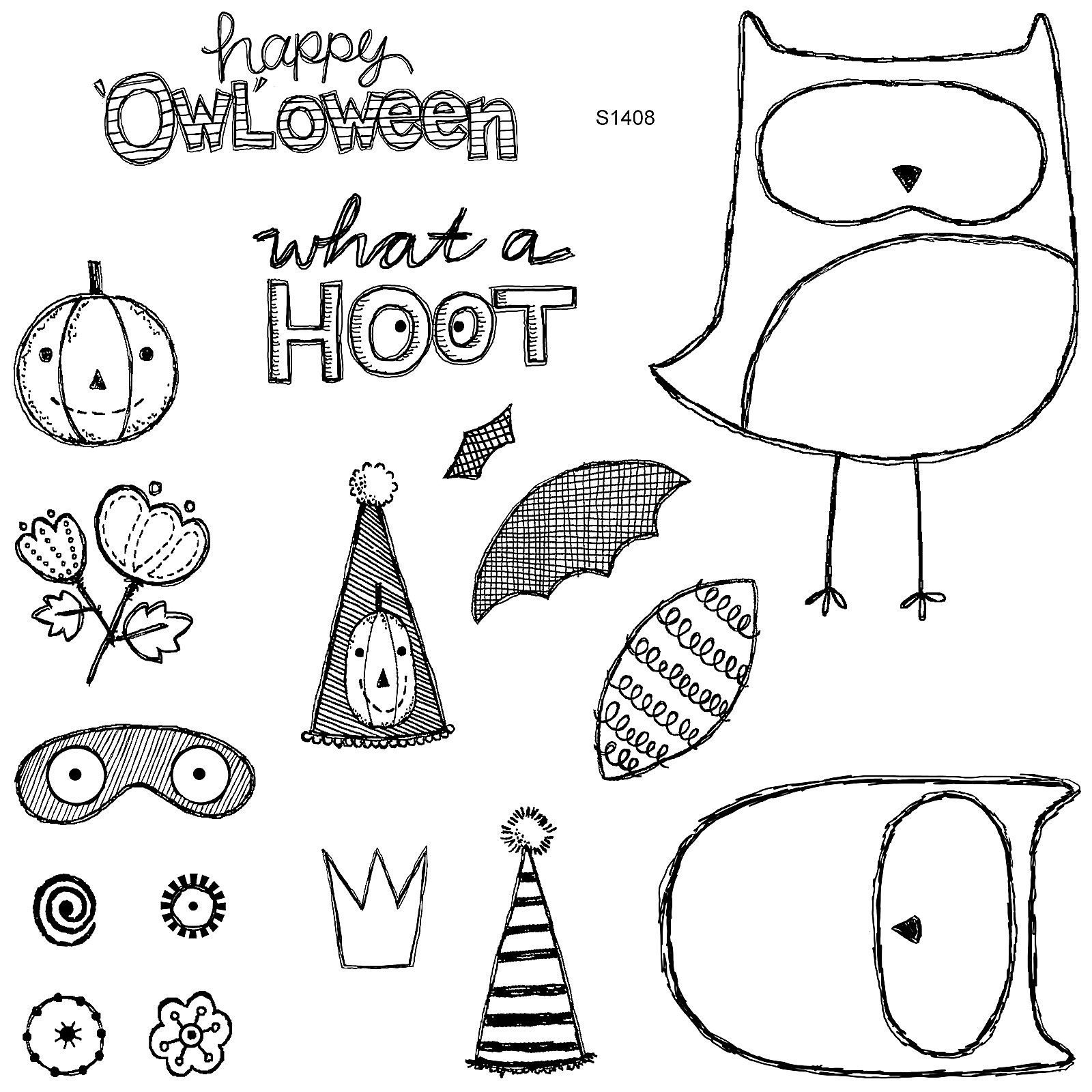 What A Hoot – August 2014 Stamp of the Month