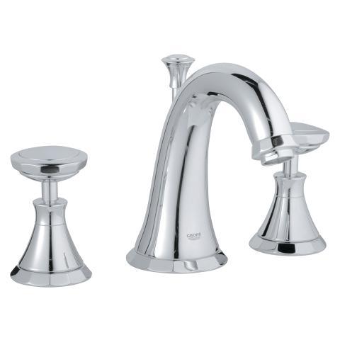 Kensington Three-hole basin mixer 1/2″   GROHE 官方網站