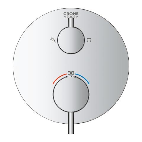 atrio mitigeur thermostatique douche 2