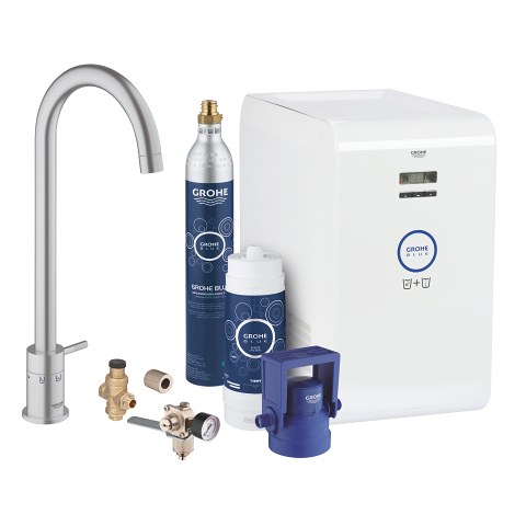 grohe blue mono chilled and sparkling